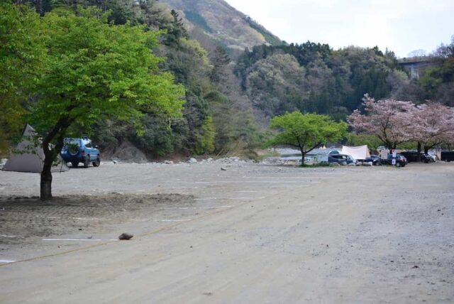 青野原オートキャンプ場のAサイト