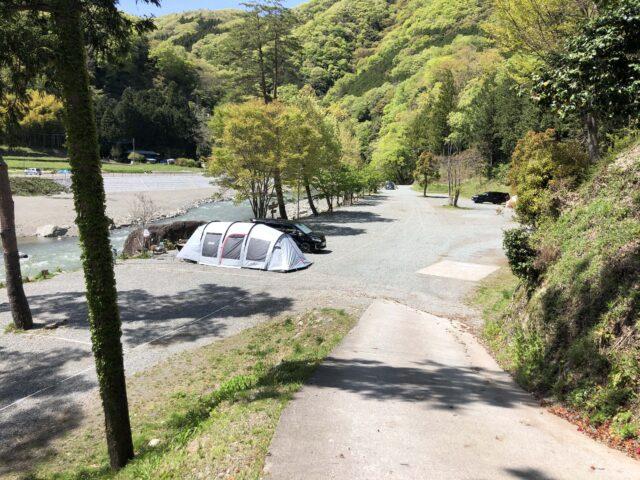 青根キャンプ場のりばーサイト