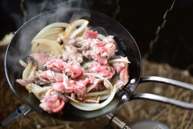 ちびパンレシピ,牛鍋丼