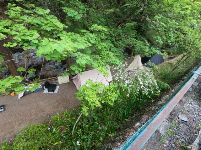 奥茶屋キャンプ場の口コミ,レビュー,混雑情報をブログで公開