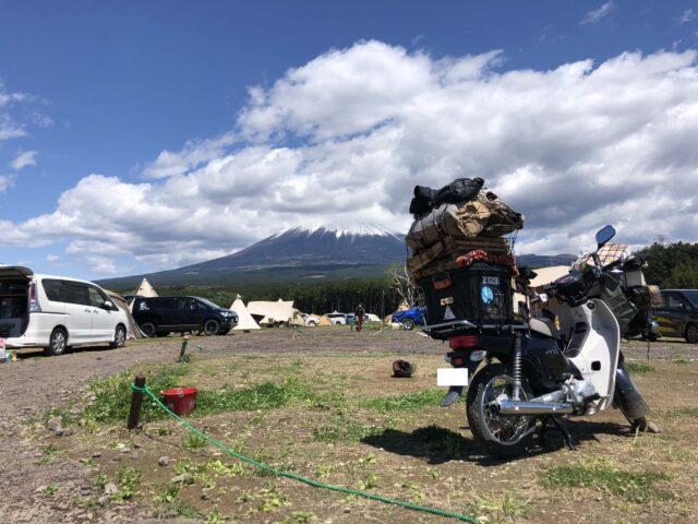 富士見の丘オートキャンプ場のブログ,混雑,サイト状況