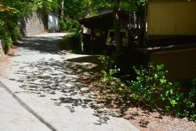 四尾連湖キャンプ場のトイレ
