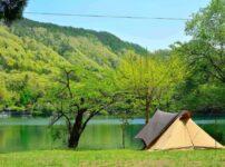 【山梨】四尾連湖キャンプ場でソロキャンプ!○つの魅力や料金、混雑情報、注意点を公開!