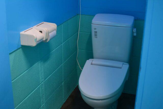 玉川キャンプ村のトイレ
