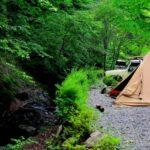 玉川キャンプ村ソロサイト