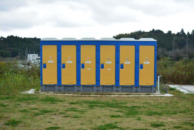 成田スカイウェイBBQのトイレ