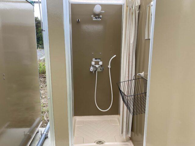 成田スカイウェイBBQのシャワー